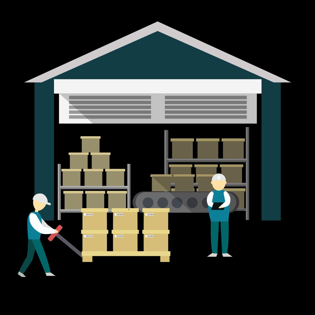 Spacious Warehouse